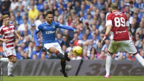 Harry Forrester set up Rangers' equaliser on Saturday