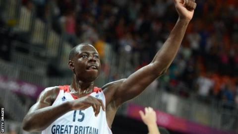 Eric Boateng playing at London 2012