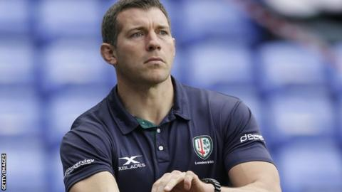 London Irish director of rugby Nick Kennedy