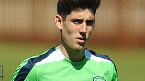 Oxford United midfielder Callum O'Dowda