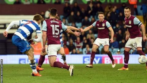 Luke Freeman's late third goal sealed victory for QPR at Villa Park