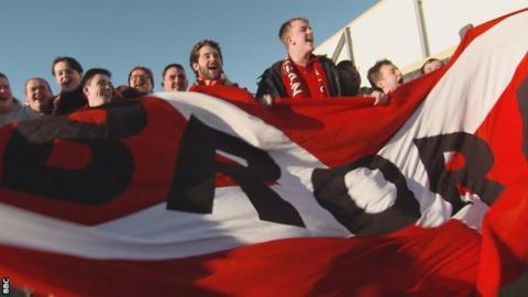 Brora Rangers supporters