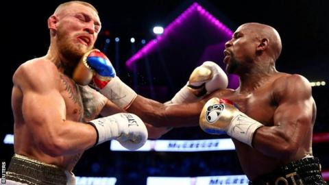 Floyd Mayweather v Conor McGregor generated more than £450m