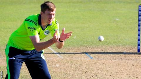 Craig Young's career-best figures of 4-13 helped Ireland to victory