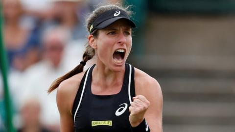 Johanna Konta leads British hopes in the women's event in Eastbourne