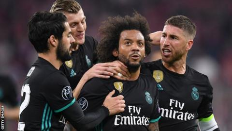 Marcelo celebrates