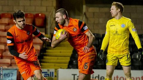 Dundee United came from 3-1 down to draw with Queen of the South at Tanandice