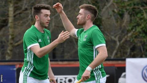 Shane O'Donoghue scored two goals to help Ireland to Ireland victory over Scotland