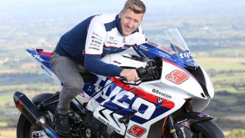 Ian Hutchinson will race on a Tyco BMW next year