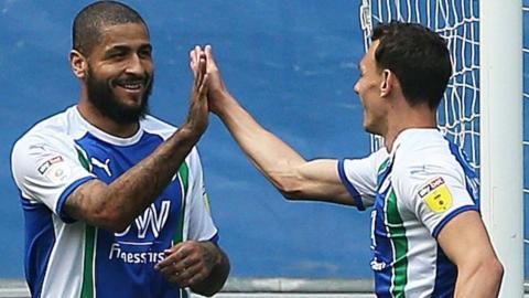Clarke has scored six goals for Wigan this season