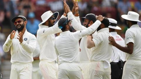 India edge defiant Australia by 31 runs in test opener