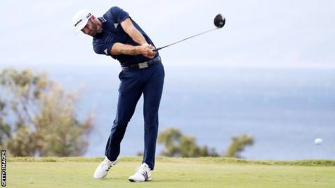 Long-hitting Pieters leads in Abu Dhabi