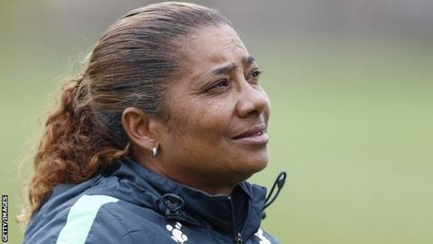 Coach of South Africa's women's team Desiree Ellis