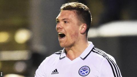 Ayr United's Craig Moore