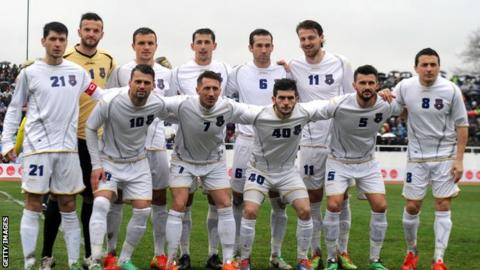 Kosovo line-up to face Haiti