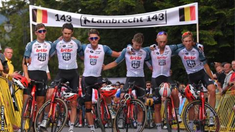 Lotto-Soudal vows to continue racing in honor of Lambrecht