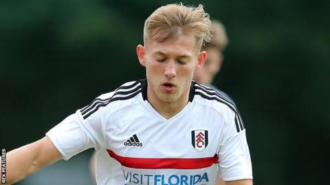 George Williams in action for Fulham