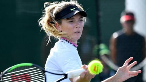 Katie Boulter wins in Indian Wells qualifying