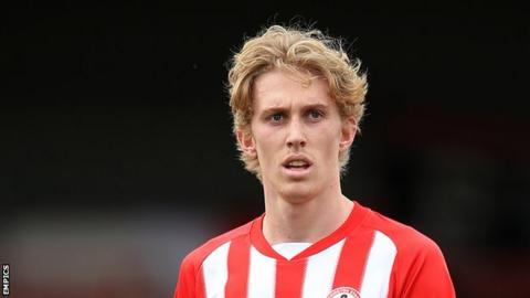 Harvey Rodgers scored one goal during his time with Accrington Stanley last season