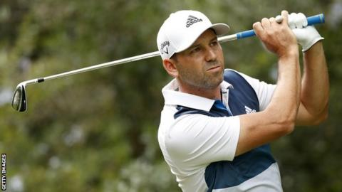 Valderrama Masters - Sergio Garcia four clear after second-round 64