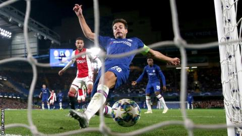 Chelsea 4-4 Ajax: Champions League thriller ends in stunning