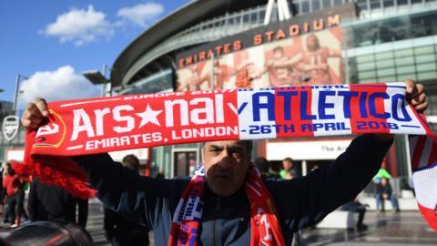 Atletico fan