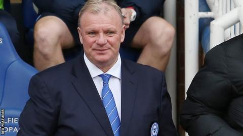 Steve Evans's first game in charge of Peterborough