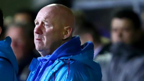 Acting Sutton boss Ian Baird