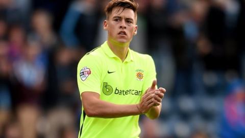 Hartlepool striker Scott Fenwick