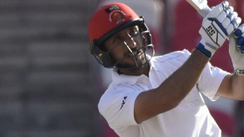 Rahmat Shah again top-scored for Afghanistan with 76 after notching 98 in their first innings