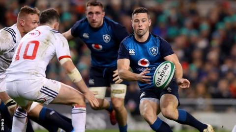 Rugby World Cup: John Cooney 'unfortunate' to miss out on Ireland squad