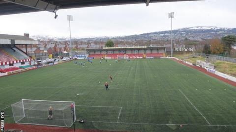 Solitude football ground