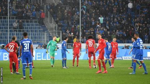 Bayern Munich and Hoffenheim