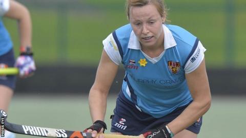 Megan Frazer was on target for Ulster Elks against Ards