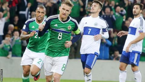 Steven Davis has chipped in with 10 goals since making his Northern Ireland debut in 2005
