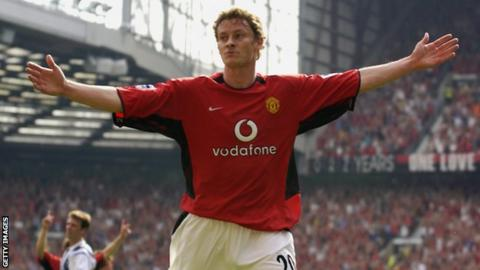 New interim Manchester United manager Ole Gunnar Solskjaer