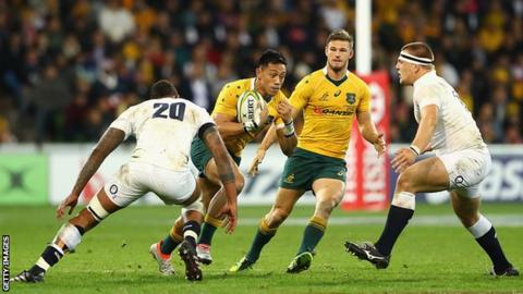 Lealiifano in, Cooper out for Wallabies' South Africa clash