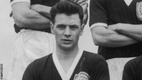 Graham Leggat played for Scotland at the 1958 World Cup