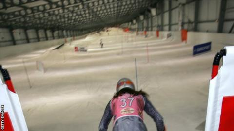 The proposed Merthyr snow dome would create an indoor slope similar to the 500m one in Landgraaf, the Netherlands
