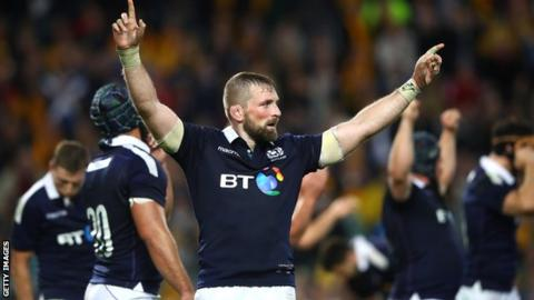 John Barclay will captain Scotland for the autumn internationals