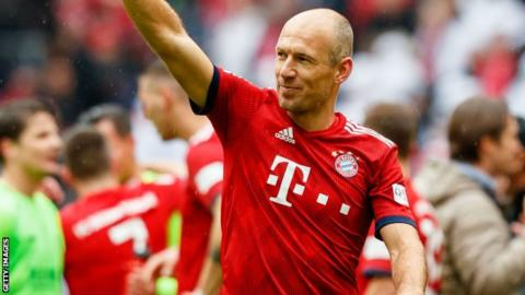 cheaper c90c0 eb9f6 Arjen Robben: Bayern winger says he could retire this summer ...