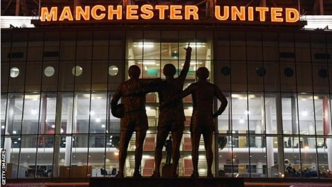 Manchester United Old Trafford ground