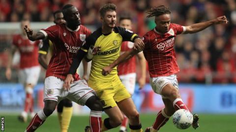 Bristol City v Burton