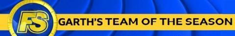 Garth's team of the season