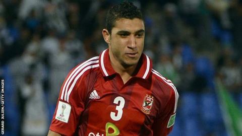 Al Ahly defender Rami Rabia