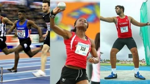 Jeremiah Azu, Sarah Omoregie and James Tomlinson will all compete for GB in July