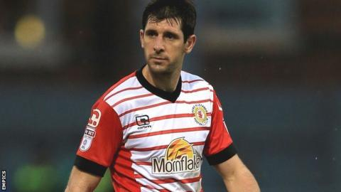 Crewe Alexandra midfielder Danny Hollands