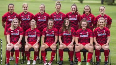 Wales Women Sevens squad