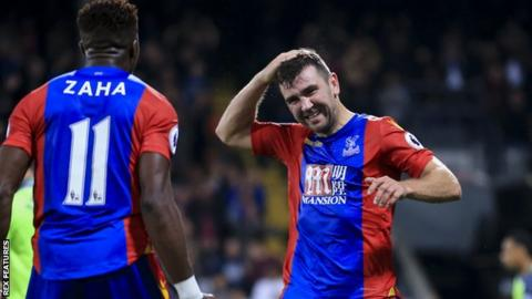 James McArthur scored twice against Liverpool on Saturday