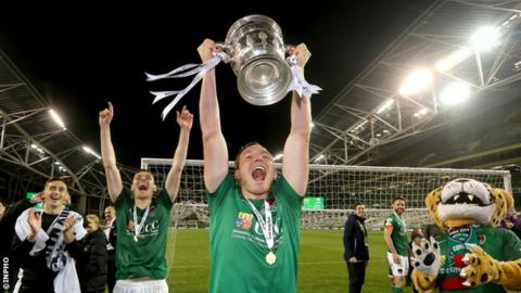 Campion helped Cork to a League and Cup double last season